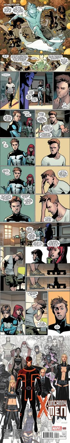 X-Men's Iceman Confronts Himself: 'You Are Gay'