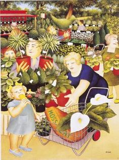 Welcome to the Beryl Cook shop. We stock the definitive collection of Beryl Cook Limited editions and other Beryl Cook prints. Beryl Cook, English Artists, British Artists, Family Picnic, Naive Art, Funny Art, Limited Edition Prints, Garden Centre, Cool Art