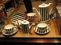 Henri Bendel tea set. Husband: make a note.