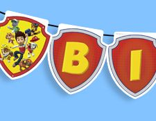 PAW Patrol - Birthday Banner  FREE from Nick Jr.