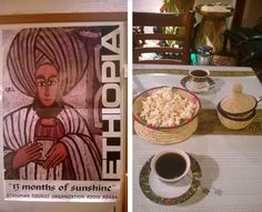 Cowboys & Cappuccinos: Ethiopian Coffee Ceremony