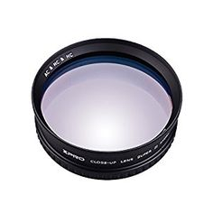 49mm Close-up Filter Kit 4 Pieces +1,+2,+4,+10 Macro Filter Accessory Close-up Lens Filter Kit Set with Lens Filter Pouch for Canon Nikon Sony Pentax Olympus Fuji DSLR Camera+Lens Cap