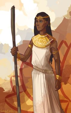 Nehemia, princess of Eyllwe By taratjah