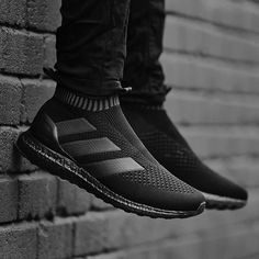 Start the new year in style.  The new #ACE16+ Ultraboost in triple black.  Available tomorrow.  #LimitedCollection