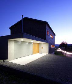 EFH Steurer - Einfamilienhaus Krumbach - QUERFORMAT . Architektur und Bauleitung ZT GmbH