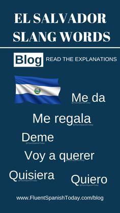 EL SALVADOR SPANISH LESSONS: PHRASES SALVADORAN SLANG - FLUENT SPANISH TODAY