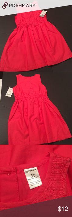 Carters Toddler Dress -Size 3T Carters Toddler Dress -Size 3T, color in pink, NWT Carter's Dresses Casual