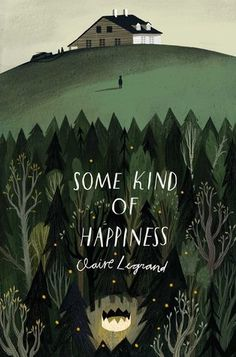 Some Kind of Happiness by Claire Legrand- nice circular illustration, the colours make the text really stand out