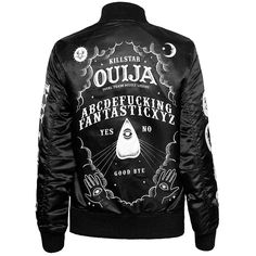 I think I want this jacket...it's really cute. Not sure it suits me tho ~ Ouija Varsity Jacket [B] Kill Star