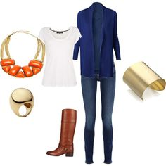 Casual Fall look (my first polyvore outfit.)