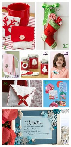 family christmas crafts   Life. Family. Love.: 50 Cheerful Christmas Crafts   Christmas!