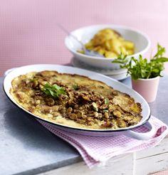 Unser beliebtes Rezept für Ofen-Schlemmerschnitzel zu Bratkartoffeln und mehr als 55.000 weitere kostenlose Rezepte auf LECKER.de.