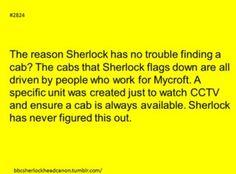 Sherlock BBC Headcanon