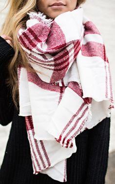 Super cute blanket scarf!