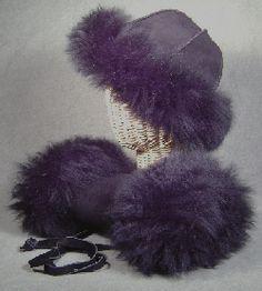 Sheepskin hand Muff Fur Slides, Mittens, Sandals, Leather, Accessories, Wedding, Slide Sandals, Valentines Day Weddings, Shoes Sandals