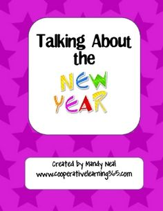 This pack includes three activities.  Students get to share what they did for New Year's while providing opportunities for class building and team ...