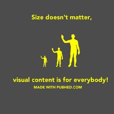 Pub'hed makes it easy for anyone to create their own visuals easily. #visualcreation #images #socialengagement