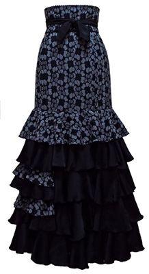 フラメンコ衣装CASETA 即納品 在庫ファルダ Ankara Skirt, Latest African Fashion Dresses, Mom Dress, Draped Dress, Ankara Styles, Rock, Formal Dresses, My Style, Lady