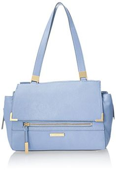 Nine West Scale Up Satchel, Periwinkle, One Size