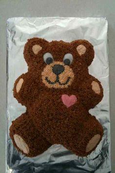 Teddy Bear Pull Apart Cake Pull Apart Cupcakes Pull