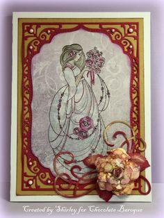 Beautiful Bride - Mackintosh Style (by Shirley)