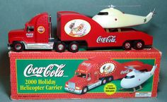 Coca Cola 2000 Holiday Helicopter Carrier