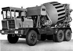 1971 Astra BM19 Mixer Truck