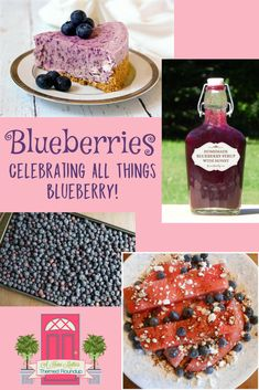 Celebrate all things blueberry! Get your blueberries here. Plus, link up at Home Matters with recipes, DIY, crafts, decor. Blueberries, Pumpkin Carving, All Things, Diy Crafts, Posts, Homemade, Celebrities, Breakfast, Link