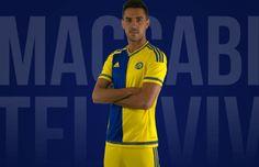 Maccabi Tel Aviv FC 2015/16 adidas Home and Third Kits