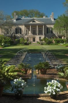 Longue Vue House and Gardens, in New Orleans, the former home of philanthropists Edith and Edgar Stern, is a magnificent Country Place Era estate comprised of a Classic Revival-style mansion surrounded by eight acres of beautifully landscaped formal and informal gardens, including an interactive garden for children.