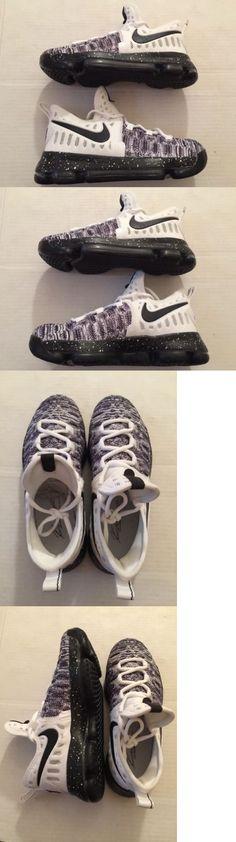 Unisex Shoes 155202: Nike Zoom Kd9 Gs Oreo Black White 855908-100  Basketball Shoes