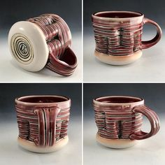 More images of the previous mug I posted.  One of my favorites from the last batch.  Im pretty content right now working with the class glazes at the high school.  But I kinda dictate which glazes we have so no surprise there.  Just dont contaminate my glazes kids.  _______________________________________________________ #clay #porcelain #ceramics #pottery #art #artist #process #glaze #ryanreichceramics