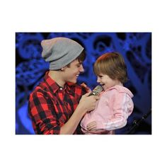 Justin Bieber singing with Jazzy ❤ liked on Polyvore featuring justin bieber