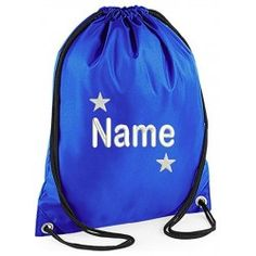 Personalised Childrens Gym Bags. Free UkChildrens GymSchool Bags For ... 2f2c2ad70