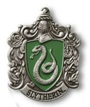 Show your colors and support your Hogwarts house! Slytherin metal lapel pin
