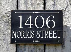 Custom House Numbers Outdoor Address Number Plaque Welcome Sign Personalized Number Family Name Plaques For Porches Stake Mailbox Post Garden Yard Fence Door
