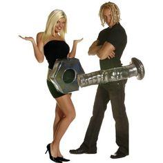 Nut and Bolt Couple Costume Group Halloween Costumes Couples Halloween Costumes and Family Halloween Costumes  sc 1 st  Pinterest & Hereu0027s a funny couplesu0027 costume with a plug in and plug outlet ...