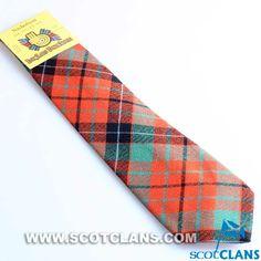 Clan Nicolson Tartan Tie