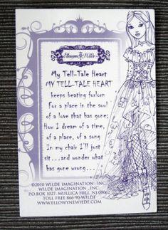 Ellowyne Wilde - My Tell-Tale Heart Poem