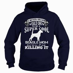 Super Cool #Beagle Mom T Shirt, Order HERE ==> https://www.sunfrog.com/Holidays/117468550-515219593.html?70559, Please tag & share with your friends who would love it, #jeepsafari #christmasgifts #renegadelife