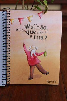 Agenda 2014 by Rita Duque, via Behance