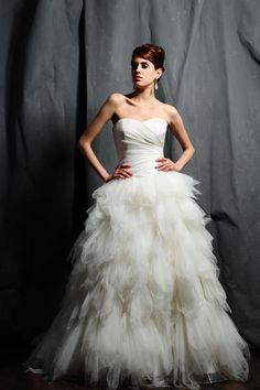 like the bottom, not the top... Saison Blanche - Wedding Dress - STYLE - B3105