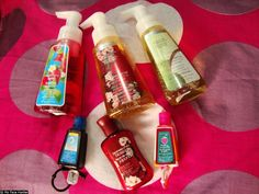 Bath & Body Works Haul (PocketBac Hand Gels and Holders, Hand Soap, and Lotion)