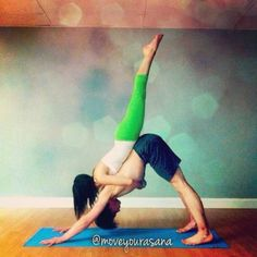 partner yoga #partne