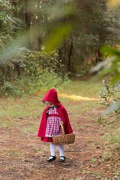 Petit chaperon rouge (tuto cape)