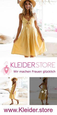 Gelbes Kleid Als Hochzeitsgast günstig Online kaufen – jetzt bis zu -87%  sparen 63cbecf5fd