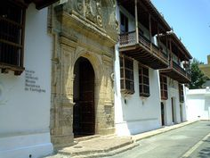 Palacio de la Inquisicion Museo Historico de Cartagena, Colombia.