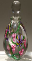 Kela's Art Glass Perfume Bottles