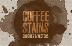 Coffee Stains – Brushes and Vectors