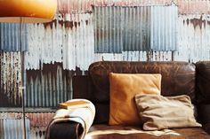elladoran.co.uk corrugated iron wall paper